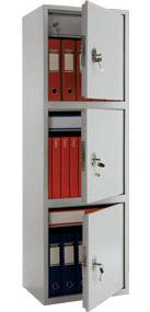 Архивный шкаф Практик SL-150/3T