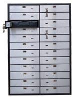 Блок депозитных ячеек  VALBERG DB-24