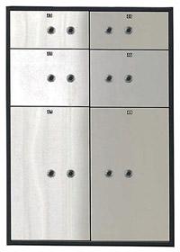 Блок депозитных ячеек  VALBERG DB-6/3DGL