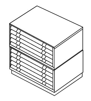 Картотека BISLEY FCB-42L(РС471472)