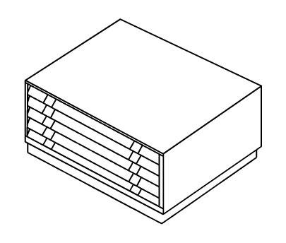 Картотека BISLEY FCB-43L(РС473)