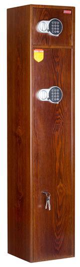 Сейф (шкаф) ССМ ШХО-1480/2 EL wood (покраска под дерево)